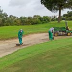 TAREAS MANTENIMIENTO GOLF-MANTENAINCE GOLF TASK COSTA BALLENA APRIL20200116